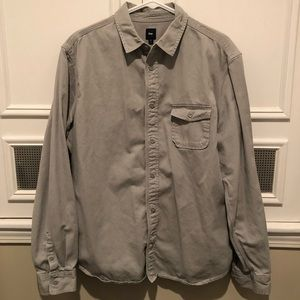 Gap Long Sleeve Button Down - Large